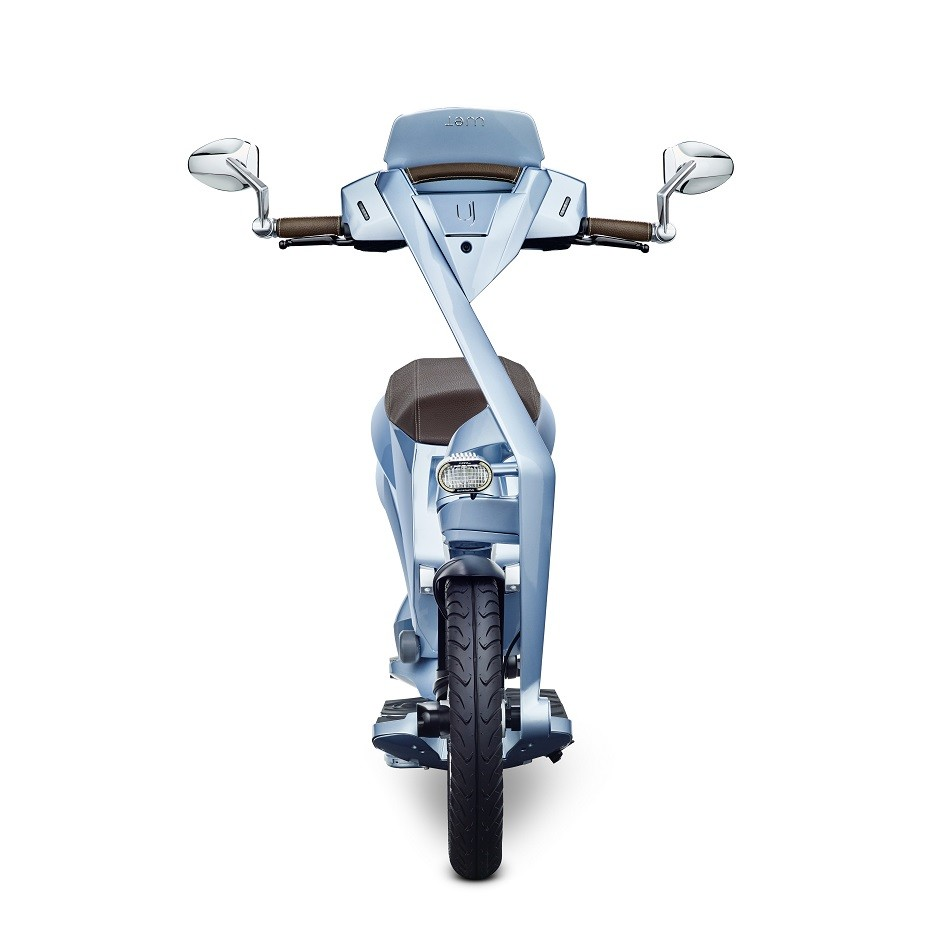 ujet scooters front bel air blue