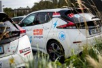 Nissan LEAF alla Electric Marathon
