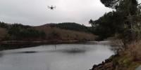 Indra testa il primo drone ambientale per la protezione di fiumi e zone