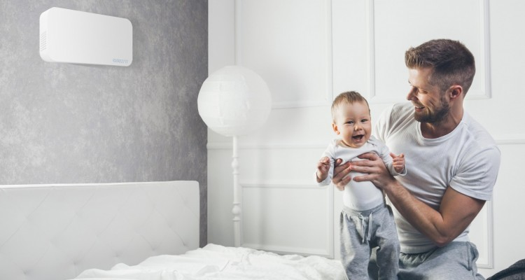 Inquinamento atmosferico e polveri sottili: mai più dentro casa con Helty Flow Easy