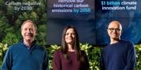 Microsoft investe sull'ambiente con il piano Carbon Negative