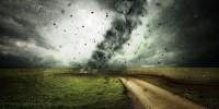 Maltempo, +44% bufere vento e campi devastati