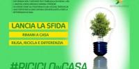 Rifiuti: parte la campagna social del MinAmbiente #ricicloincasa