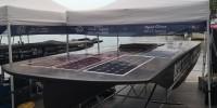 A SunRazor 01, la barca solare italiana, l'oscar green della montonautica