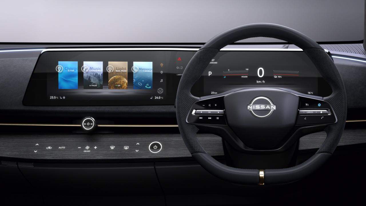Nissan: per niente tablet ma un display composto da due schermi