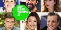 "Fedez e altri testimonial d'eccezione a supporto di ""Stopglobalwarming.eu"""