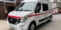 In Giappone ,a prima ambulanza Nissan NV400 a zero emissioni