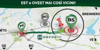 Sconto 'green' del 30% per tutti i veicoli full electric e LNG su A35 Brebemi e A58 Teem