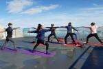 Yoga ad alta quota sulla Marmolada e sulla Tofana di Mezzo