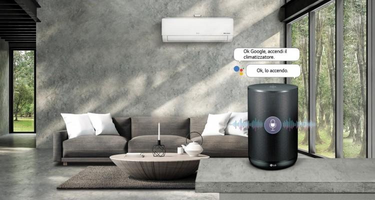 Climatizzazione: arriva compatibilità dell'applicazione LG ThinQ con Google Assistant