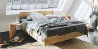 Team 7 presenta light e times, i letti in puro legno naturale