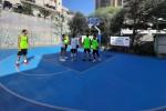 A Bari arrivano i campi da basket in gomma riciclata