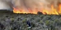 Un violento incendio sta distruggendo le foreste del Kilimangiaro