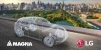 LG e Magna: joint venture per espandersi nel mercato dell'elettrificazione dei veicoli