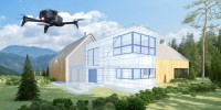 Superbonus 110%: droni in volo per i rilievi sugli edifici