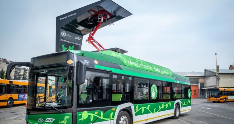 Milano: installati i primi charger hi-tech per la ricarica wireless dei bus elettrici