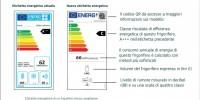 Arrivano le nuove etichette energetiche UE
