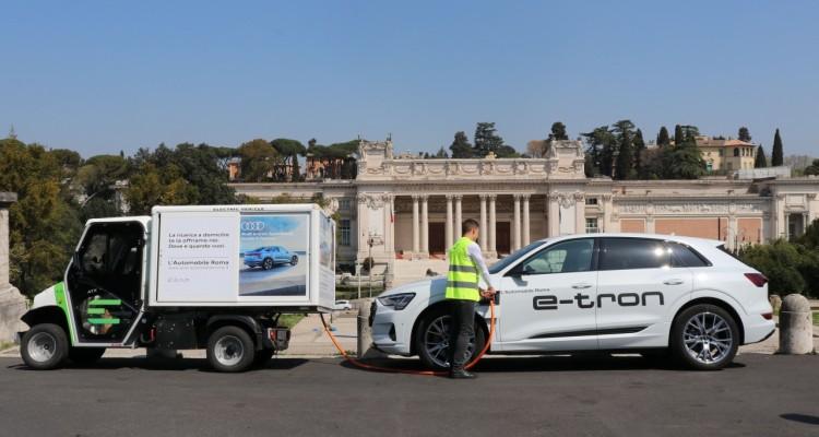 E-GAP rafforza l'offerta di ricariche elettriche on demand a Roma