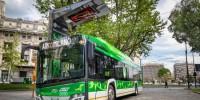 Milano, Atm: in servizio i primi quattro charger per la ricarica wireless degli e-bus
