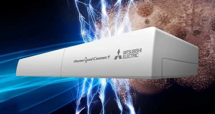 Mitsubishi Electric Plasma Quad Connect: dispositivo di filtrazione attiva per la massima qualità dell'aria