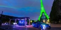 La tecnologia delle celle combustibile ad idrogeno Toyota illumina la Torre Eiffel