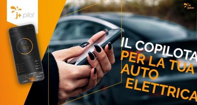 Juice presenta j+ pilot, un'app per il mondo delle auto elettriche