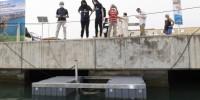 Arriva il Seabin al Porto di Pisa: pulirà l'acqua dalle plastiche