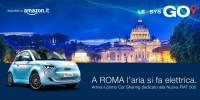LeasysGO! a Roma il car sharing dedicato alla nuova 500 elettrica