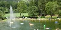 l laghetto di Issengo (BZ), un'oasi nel bel mezzo  della Val Pusteria