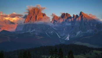 Burning Dolomites lo spettacolo a cielo aperto, dal 14 settembre