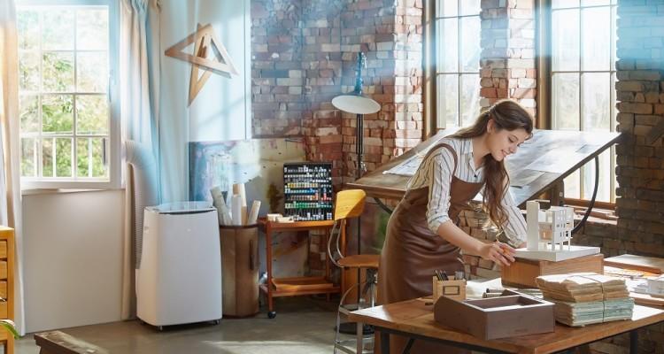 LG Electronics, un nuovo climatizzatore portatile con compressore DUAL Inverter