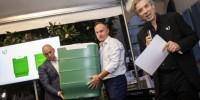 Wormy: la compostiera per casa nata dal riciclo dei cassoni PEHD