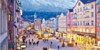 Il natale di Innsbruck risplende di luce