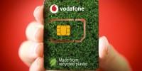Vodafone lancia Eco-Sim, la sim card realizzata con plastica riciclata